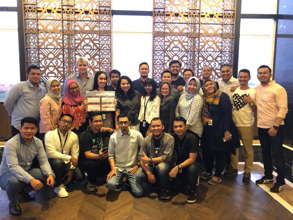 We worked with an awesome team at olx in Indonesia! Well done to all who completed the ValueSelling Fundamentals and VSAM classes with us