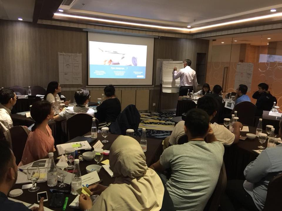 The ValueSelling Framework being trained in Indonesia 2018