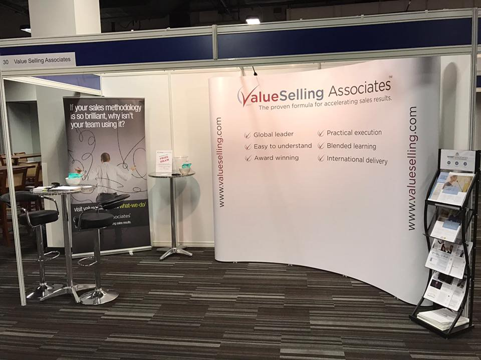 ValueSelling Stand, ready for action at NSC2016 in Coventry