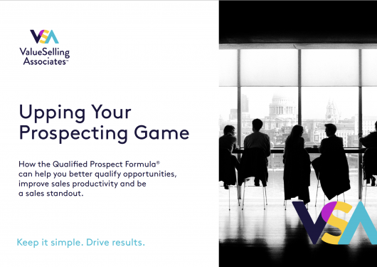 Upping Your Prospecting Game