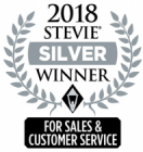 2018 Stevie Silver Award for Sales and Customer Service